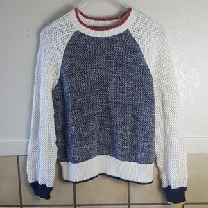 Joie open knit cropped sweater **No Label/size tag